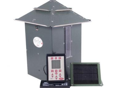 Futterautomat für Fischteiche, Koi Cafe, Fischfütterung, Teich