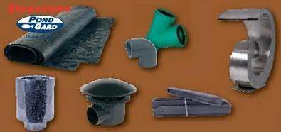 Teichbau, Leitungsbau, Wasserschalen, Wasserfälle