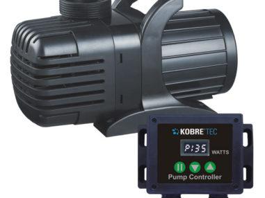 Kobre®Tec Flow Control Pumpe 30000, S-Serie - 46-385 Watt, Teichpumpe für Schwerkraft Filter