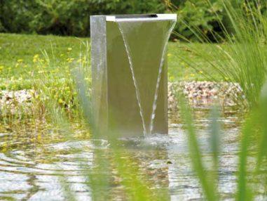 Wasserfall Oase Set 30, Inkl. Pumpe 2'500l/h und Schlauch, Teichbau, Gartenteich, Fischteich