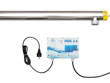 UST UV-C Klärgerät 75 Watt mit Edelstahlgehäuse, Teich, Fadenalgen, klares Wasser