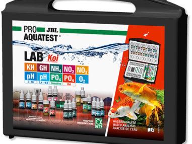 JBL ProAqua Testlab Koi Profi Testkoffer Wasseranalyse für Koi und Gartenteiche