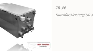 SBA Trommelfilter TR-30, Teichfilter, Filtertechnik, Teich