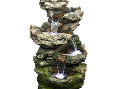 Acqua Arte Set Norfolk, Outdoor Brunnen, Felsnachbildung, Wasserfall