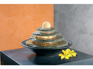 Schieferbrunnen Tao, Indoor Brunnen