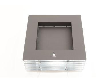 Gabione Feuerschale - Quader, XL H300, Gartendekoration
