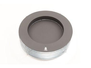 Gabione Feuerschale - Zylinder, XL H300, Gartendekoration