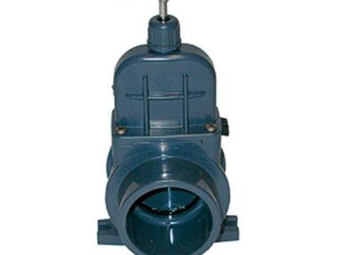 PVC Zugschieber VDL 50mm, Teich Leitungsbau